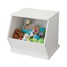 KidKraft Single Storage Unit, White